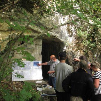 Aqueduc gallo-romain de Briarette souterrain