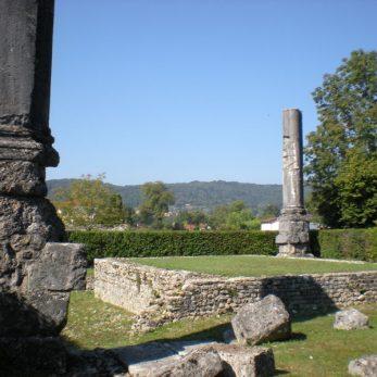 Vestiges du temple gallo-romain